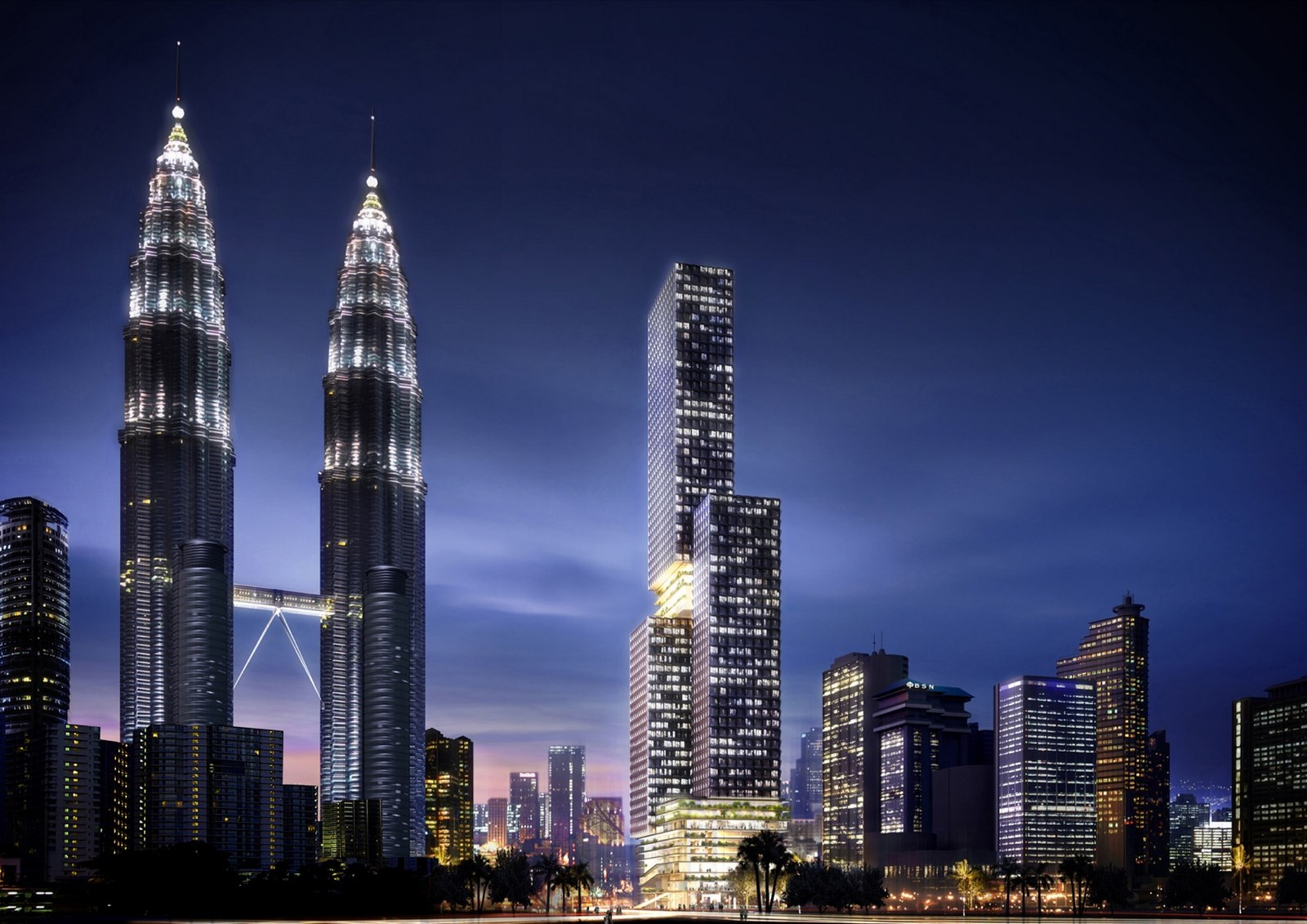 Landmark Tower  | Buro Ole Scheeren