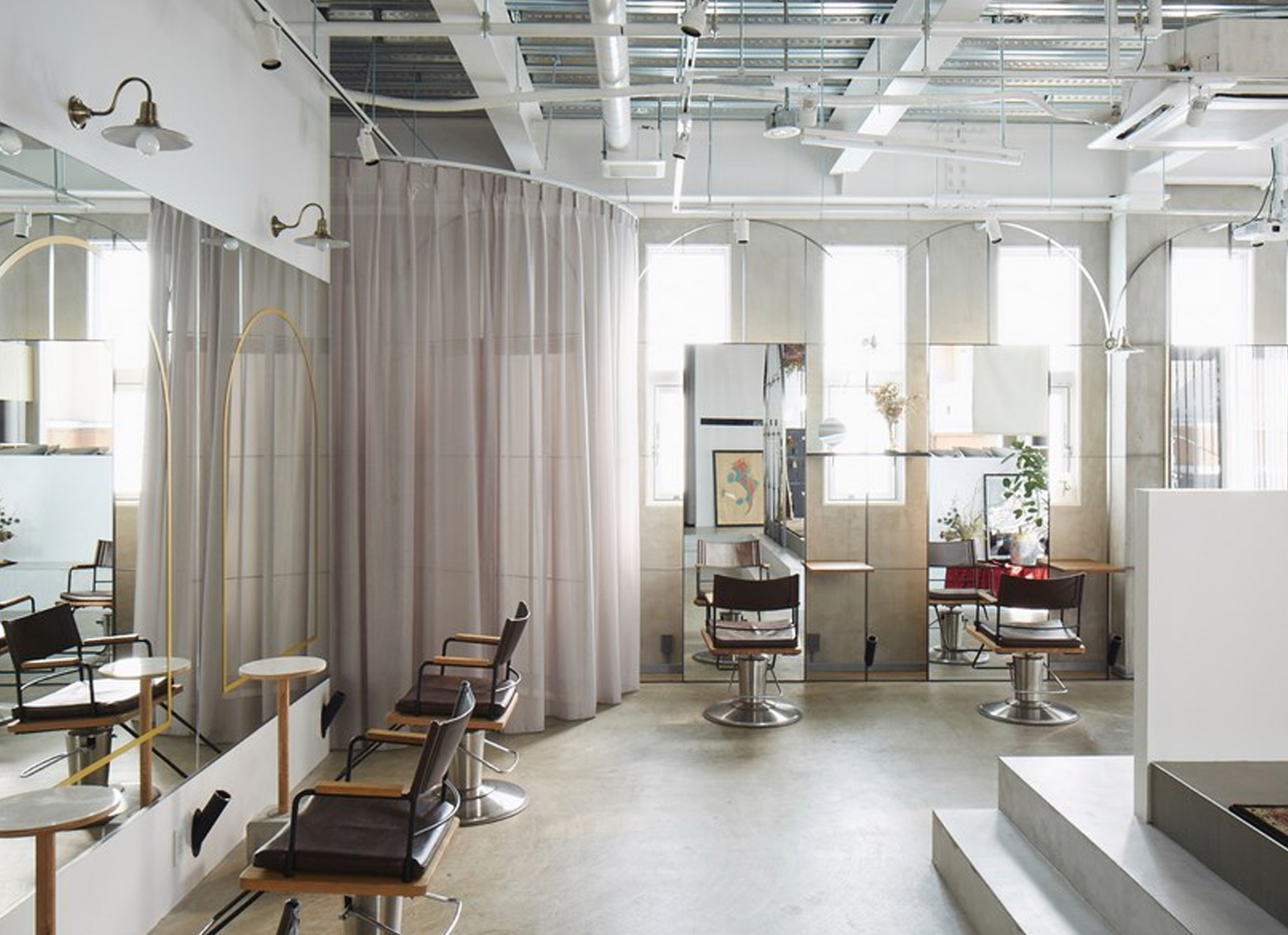 Beauty salon in Shibuya | Nanometer Architecture | International Architecture Awards 2019