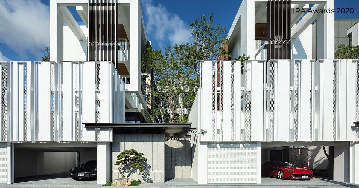 Delicate Greenery by Chain10Architecture& Interior Design Institute | International Residential Architecture Awards 2020