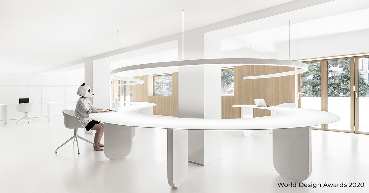 A New Office Space in Xiamen by CUN PANDA | World Design Awards 2020