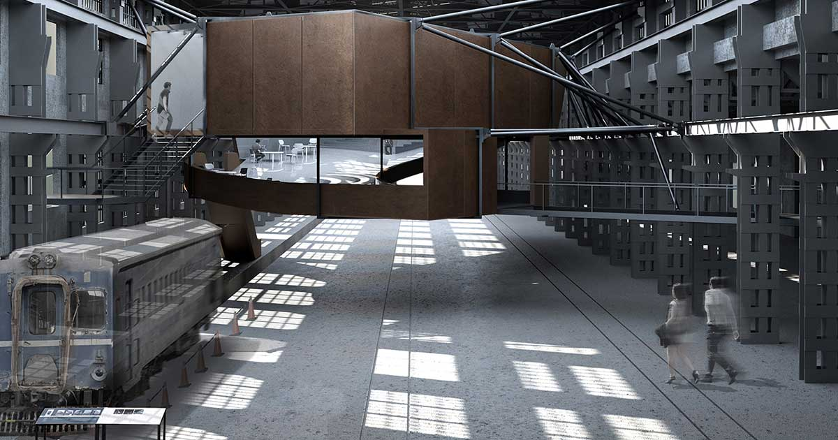 Bifurcate: Rethinking Taipei Railway Museum by Poyao Shih | World Design Awards 2020