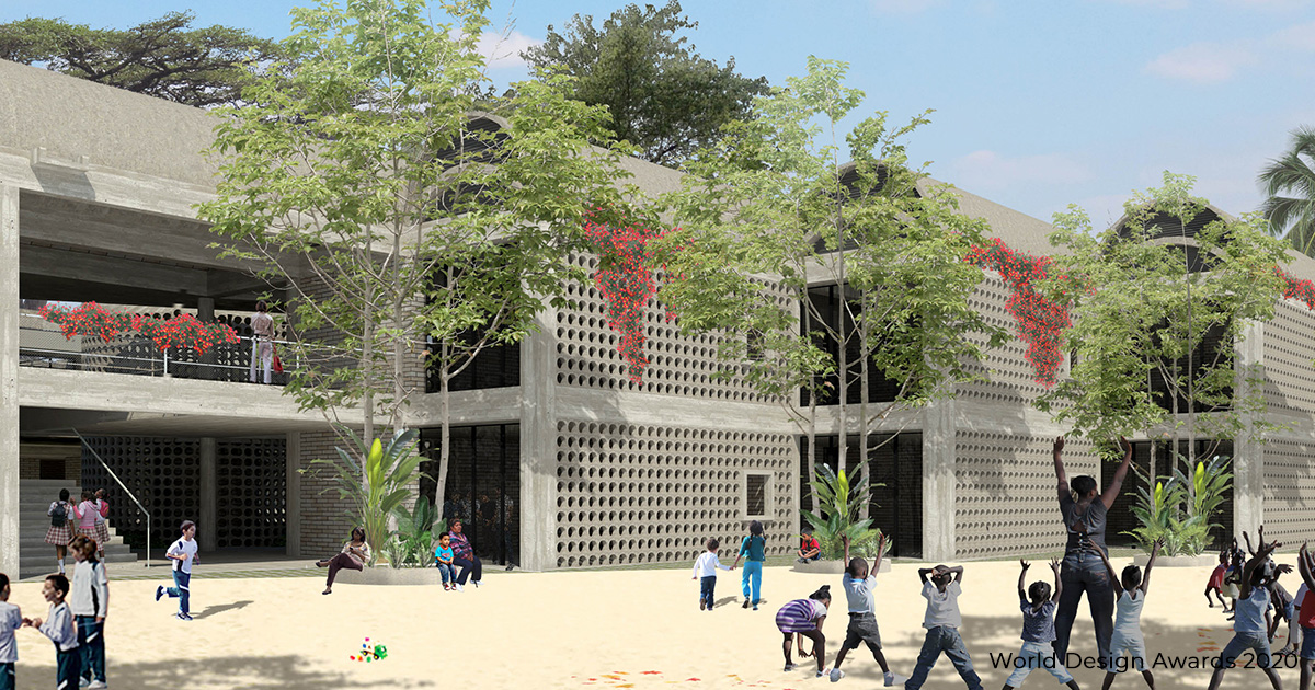 Growing Schools Prototype by ETH/UPB/SECO/Colombian Urban Transformation Program | World Design Awards 2020