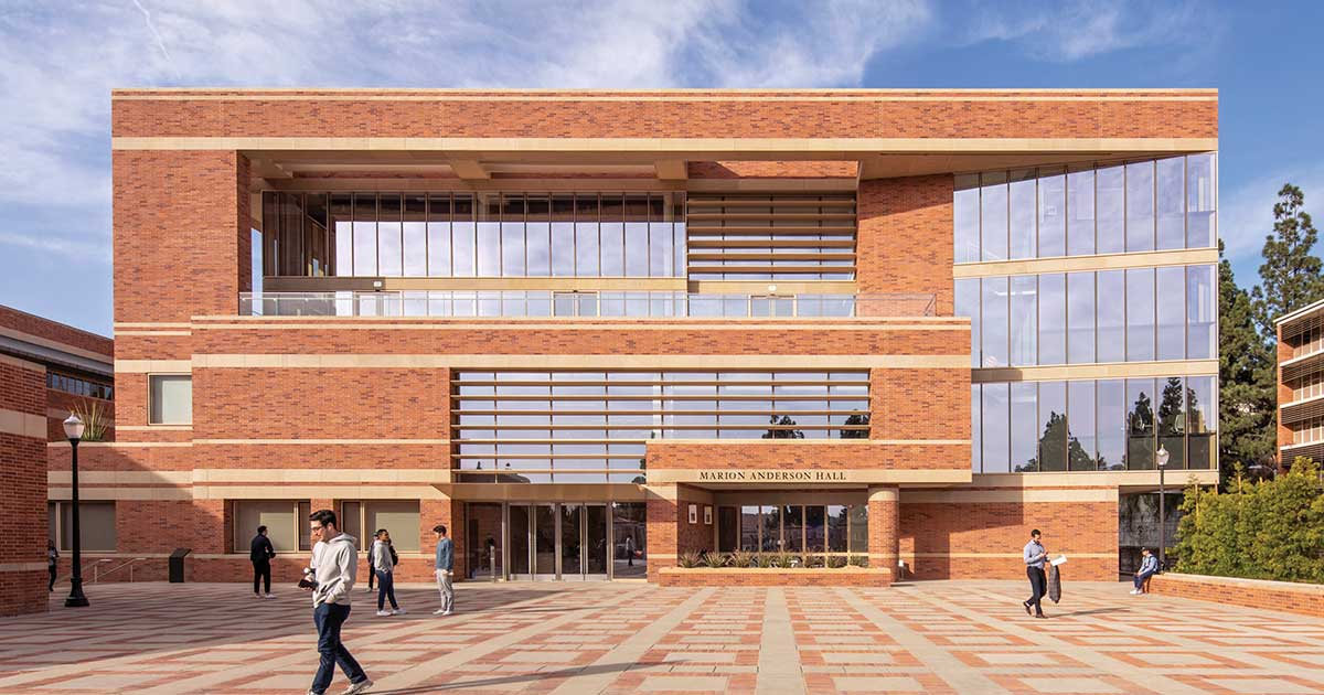 Marion Anderson Hall, UCLA Anderson School of Management by Pei Cobb Freed & Partners Architects LLP | World Design Awards 2020