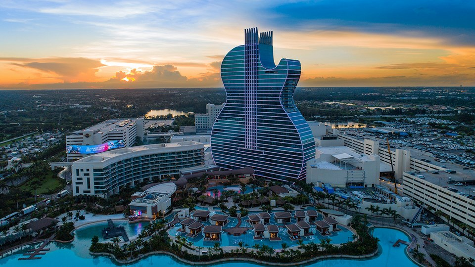 Seminole Hard Rock Hollywood Hotel & Casino – Guitar Tower by Klai Juba Wald Architecture + Interiors | World Design Awards 2020