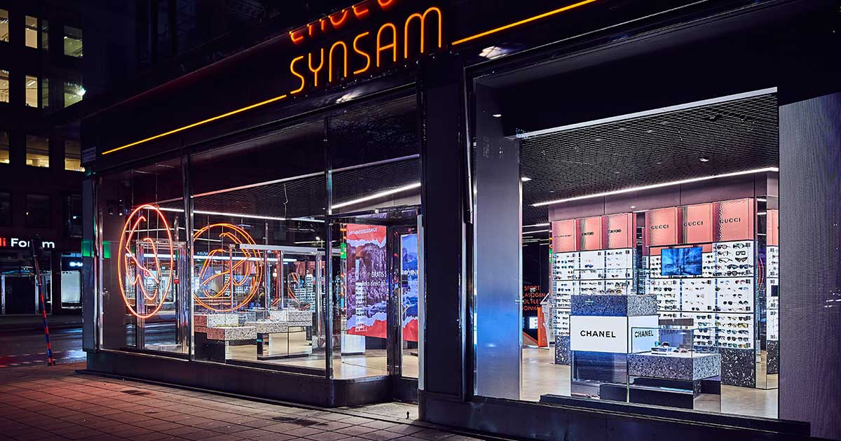 Synsam Flagship Store by Studio Stockholm | World Design Awards 2020
