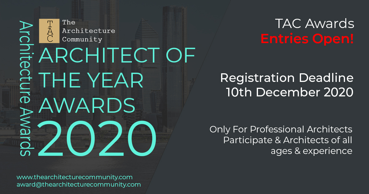 Architect of The Year Awards 2020 | The Architecture Community