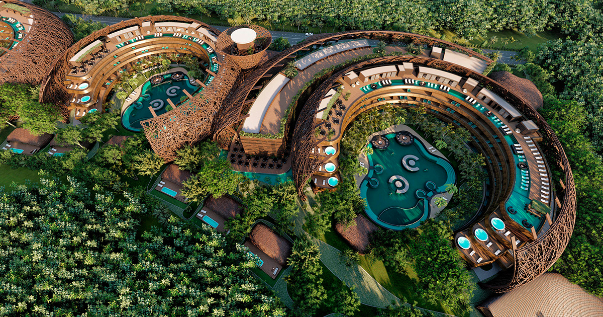 Cocoon Hotel & Resort, Tulum, Mexico || DNA Barcelona Architects || Architect of the Year Awards 2020