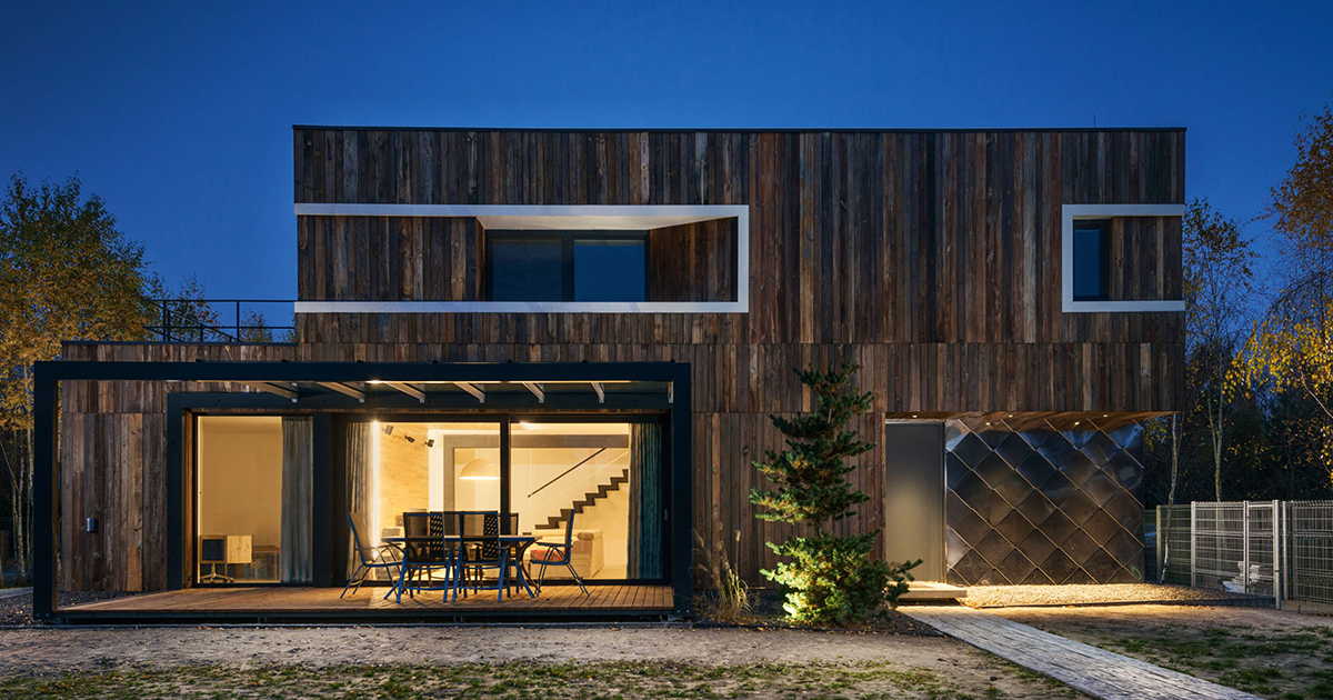 Give The Wood a Second Chance House|| KUCZIA || Architect of the Year Awards 2020
