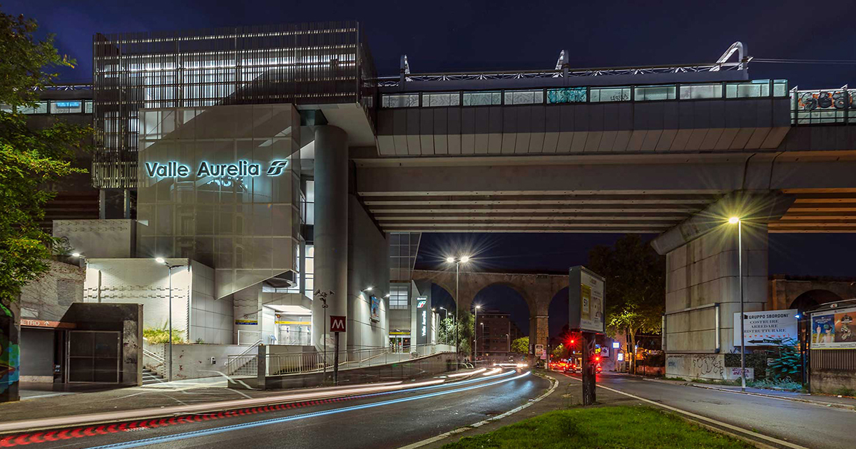 Valle Aurelia Restyling Project Railway Station-Rome || AMAART || Architect of the Year Awards 2020