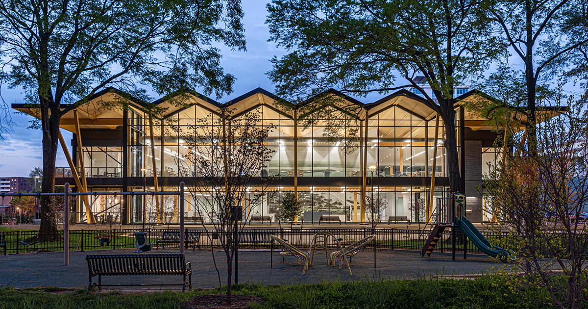 DC Public Library – Southwest Library | Perkins&Will | World Design Awards 2021