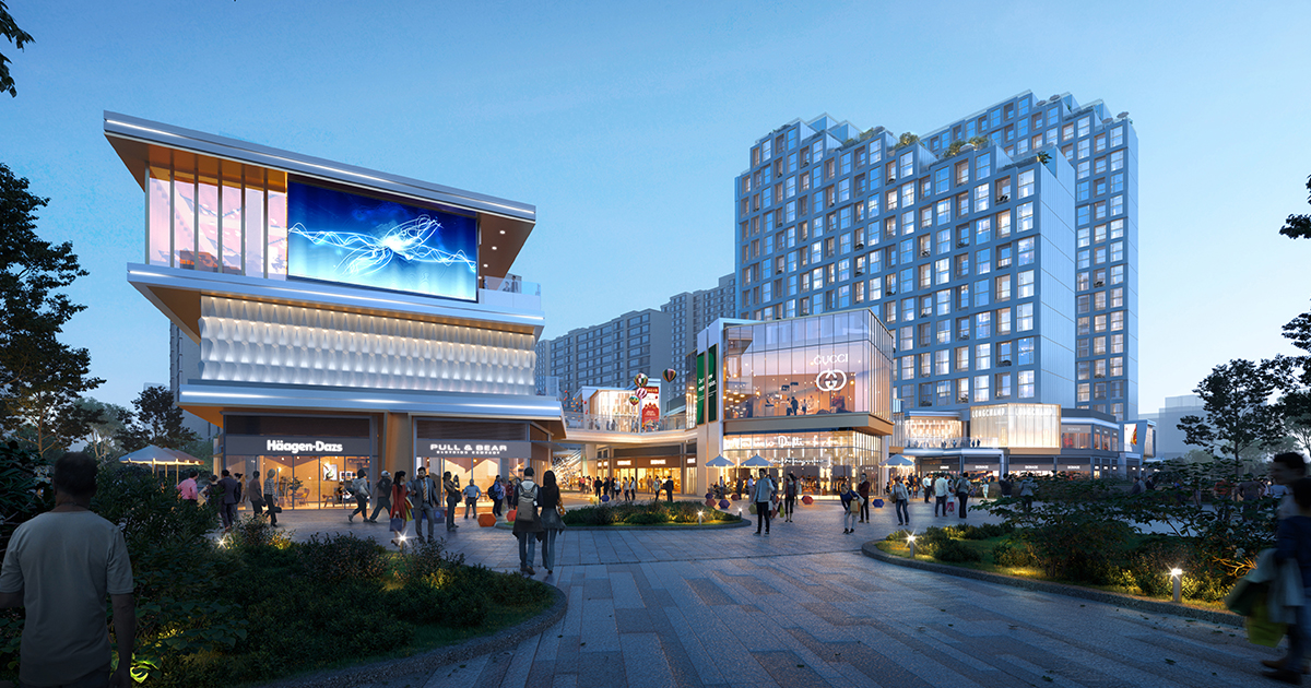 Fengdong Starry Future Mixed-Use Development | L&P Architects | World Design Awards 2021