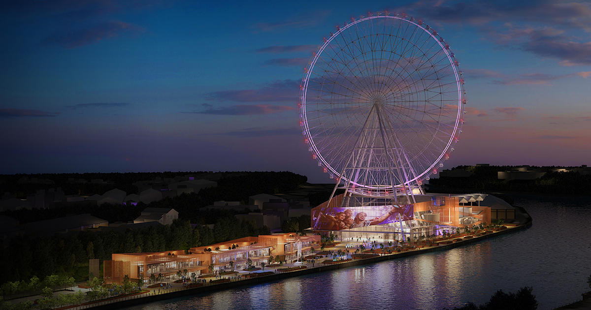 Giants On The Quayside – Whey Aye Wheel Project | Concept i | World Design Awards 2021