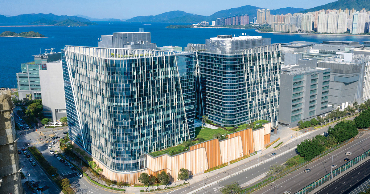 Hong Kong Science Park Expansion Stage 1 (SPX1) | Wong Tung & Partners Limited | World Design Awards 2021